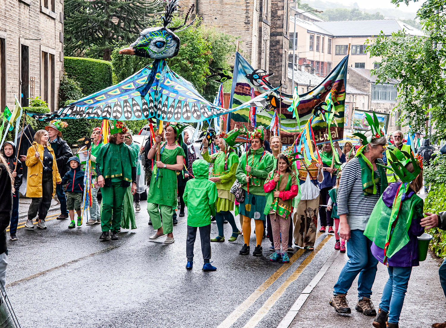 History of Holmfirth Parade Sessions