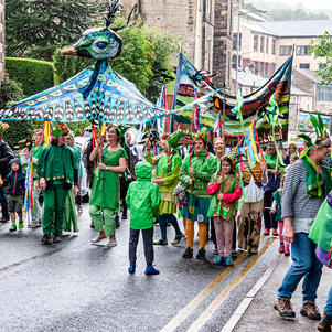 History of Holmfirth Parade by EDGELANDS ARTS