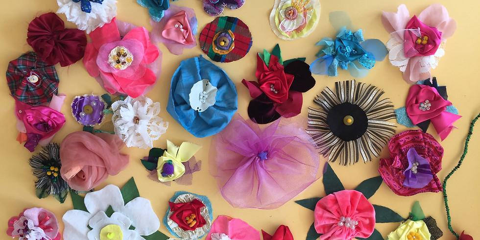 FANTASY FLOWER EMBELLISHMENTS with Jessica Grady