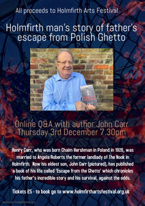 John Carr Event - Made with PosterMyWall