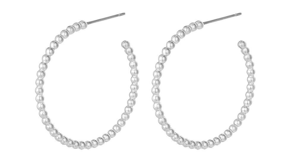 Boucles d'oreilles Grandes Créoles