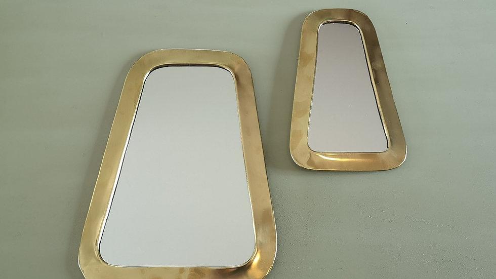 Miroir en laiton rectangle
