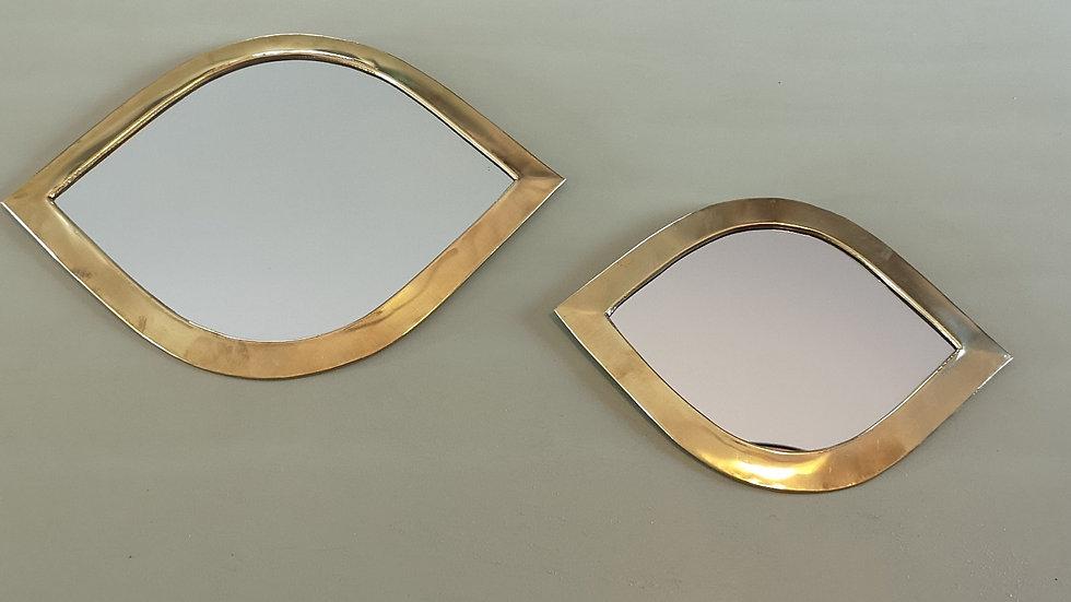 Miroir en laiton oeil