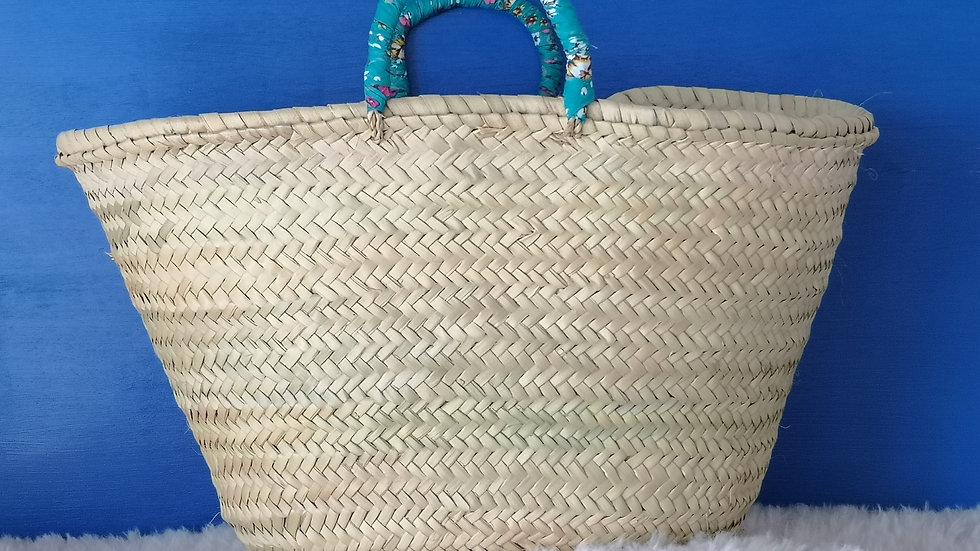 Cabas Foulard Turquoise