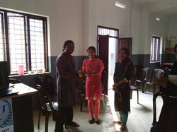 Chinchu C and Faculties, Department
