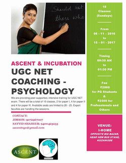 UGC NET CoachingPsychology