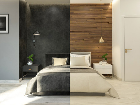 Two designs for one apartment - Athens