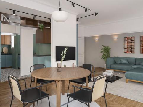 Apartment in Exarcheia, Athens