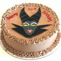 Maleficent Theme Cake