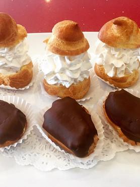 Cream Puff & Eclair