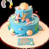 Shell Theme Cake