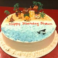 Disney Moana Cake