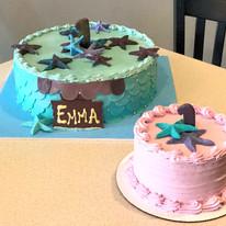 Mermaid Cake with Smash Cake