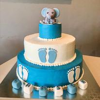 Baby Elephant Cake