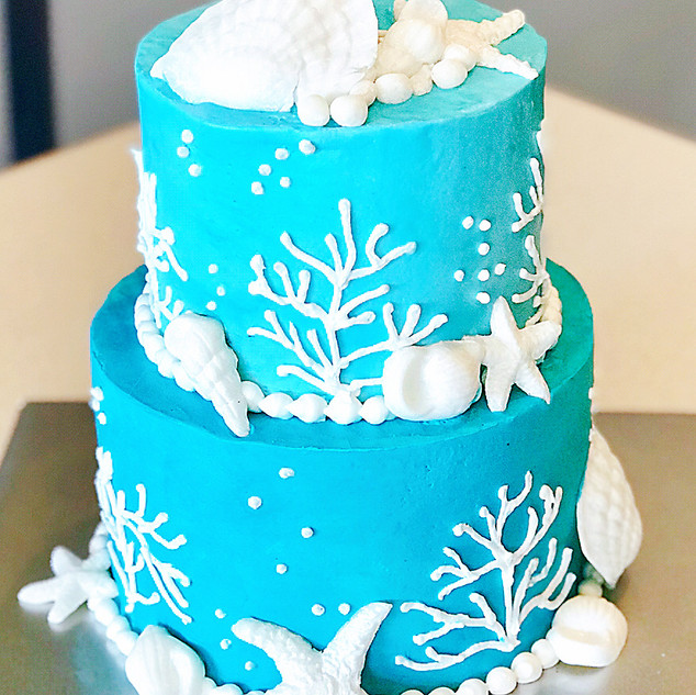 Fondant Shell Cake