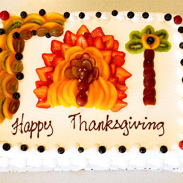 Thanksgiving Fruit Cake