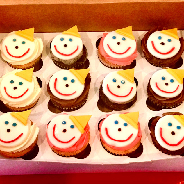 Jack-in-the-Box Cupcake