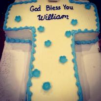 Cross Shape Cake