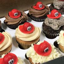 Firefighter Cupcake