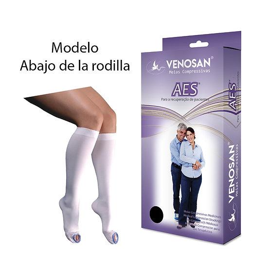 Medias antiembolicas Abajo de la rodilla