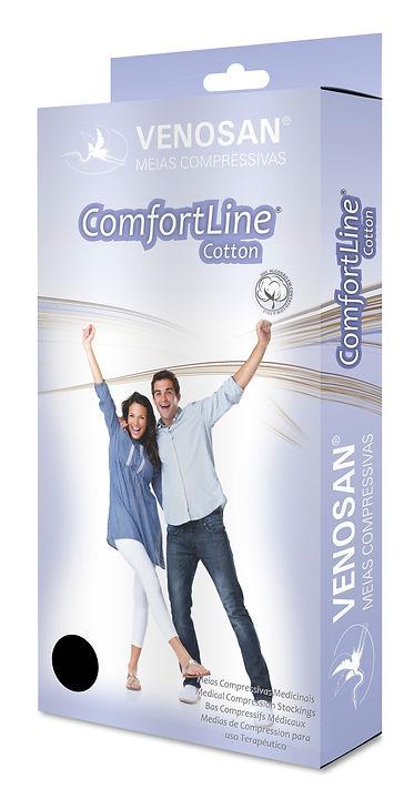 Caja de media compresiva Comfortline cotton