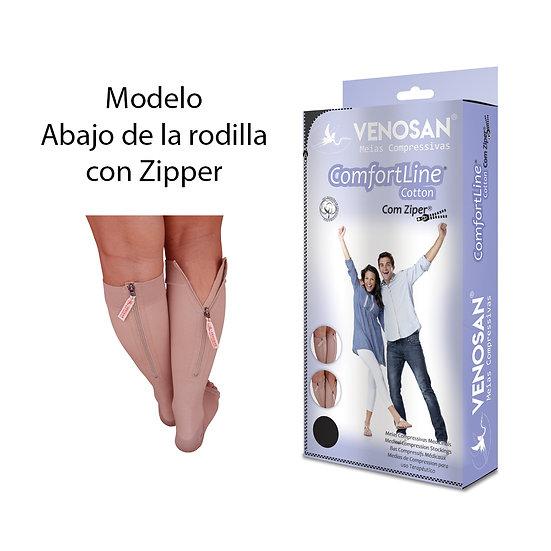 Medias Compresivas con algodón y zipper