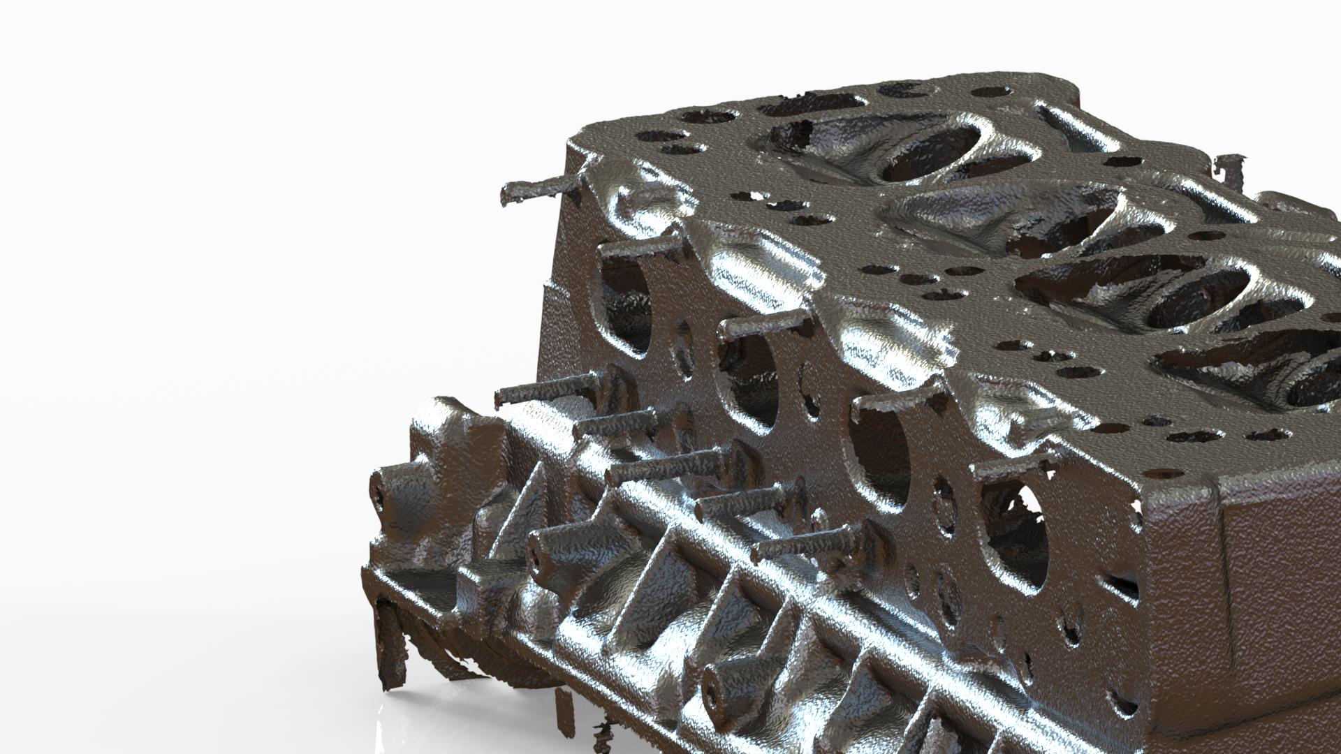 OPEL 2.0L Cylinder Head