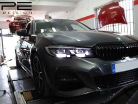 BMW 320i G20 Levels up with ECU Tune + Intake Muffler Delete