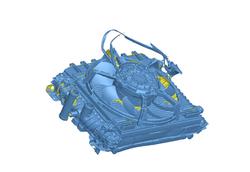 Lamborghini Huracan Side Radiator Assembly