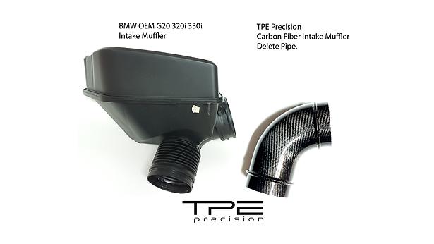 OEM Muffler vs TPE Precision Carbon Fibe
