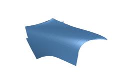 Mini Cooper Bonnet Section