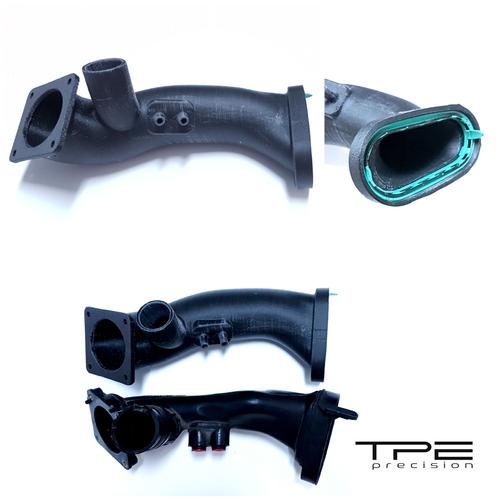 TPE Precision Charge Pipe vs OEM Unit