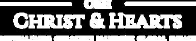 Christ & Hearts Logo (white)