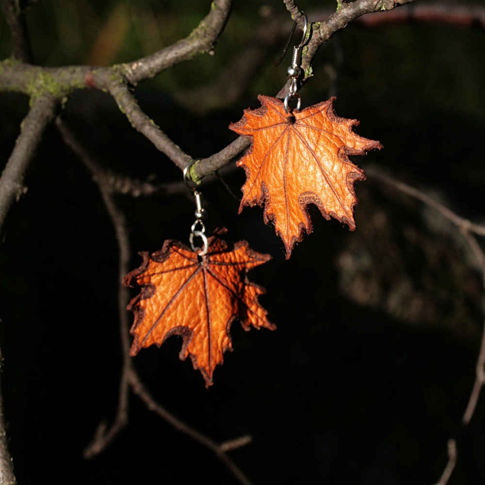 Lehtikorut - Leaf Earrings