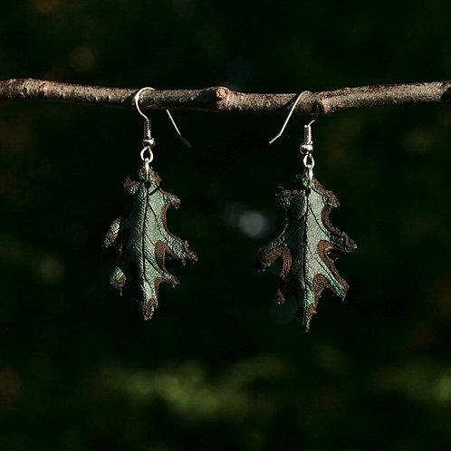 Lehtikorvakorut - Oak Leaf Earrings