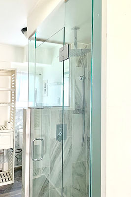 custom glass shower Maui hi