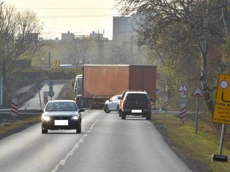 Vasúti átjáró lezárás építés miatt (7.15-8.13)