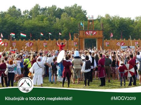 100.000 látogató!