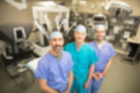 Robotic surgery team