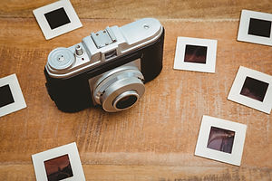 view-of-an-old-camera-with-photo-slides-