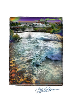 Spring River & RFP Walking Bridge