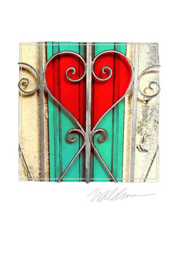 Red-Teal Gate