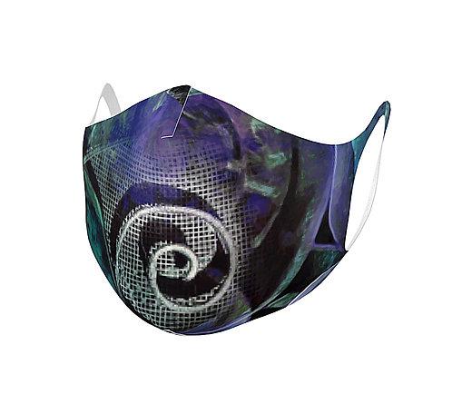 Spiral Blues-mask