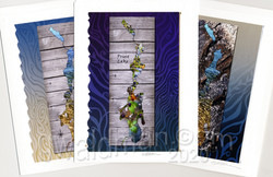 Priest Lake Map art cards