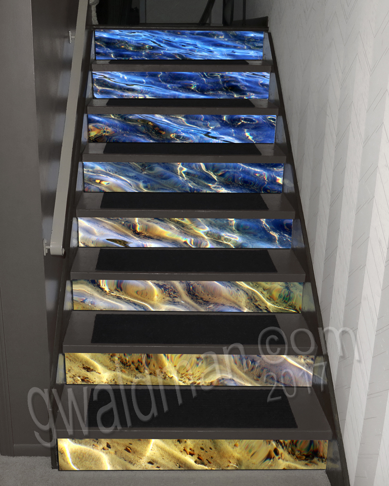 Water Glow Stairs