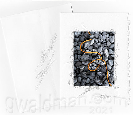 Rock Drawing-with pencil accents
