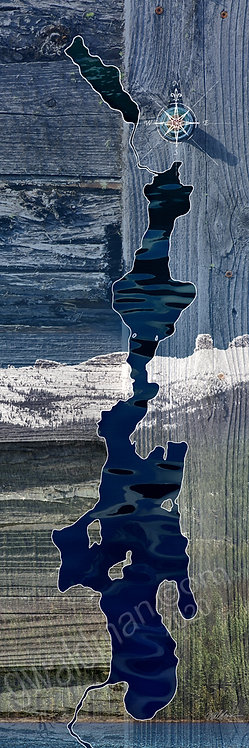 Priest Lake Map-Chimney Rock