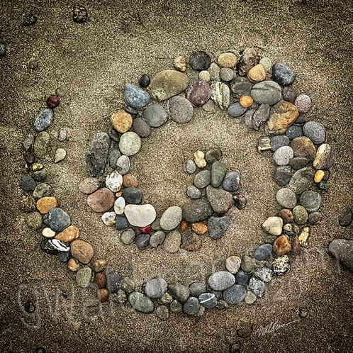 Beach Rock Spiral