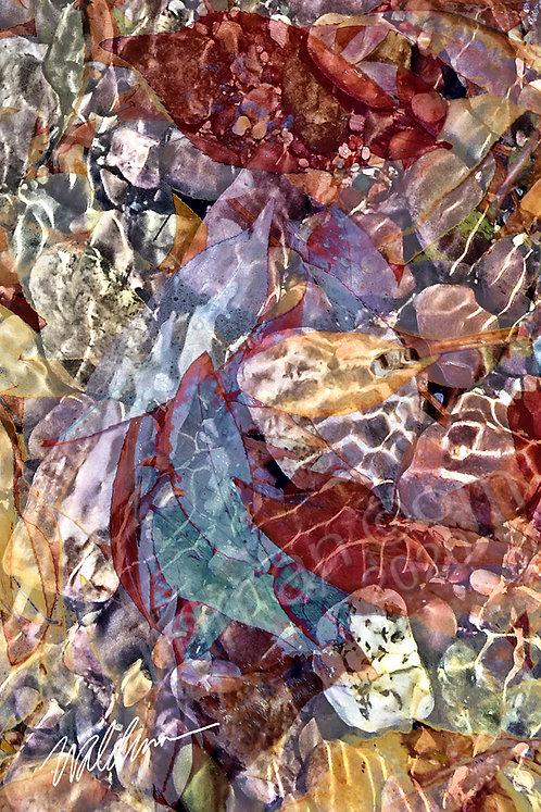 Lake Gems-5x7 art card