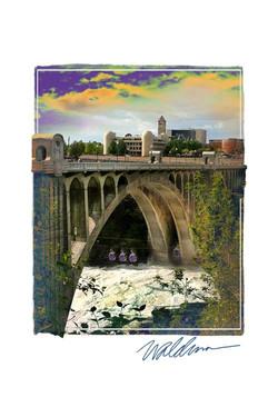 Monroe St Bridge & Gondolas